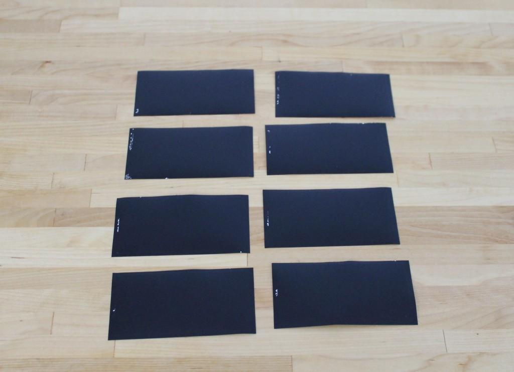 Labels finished 1024x741 - DIY Chalkboard Kitchen  Labels