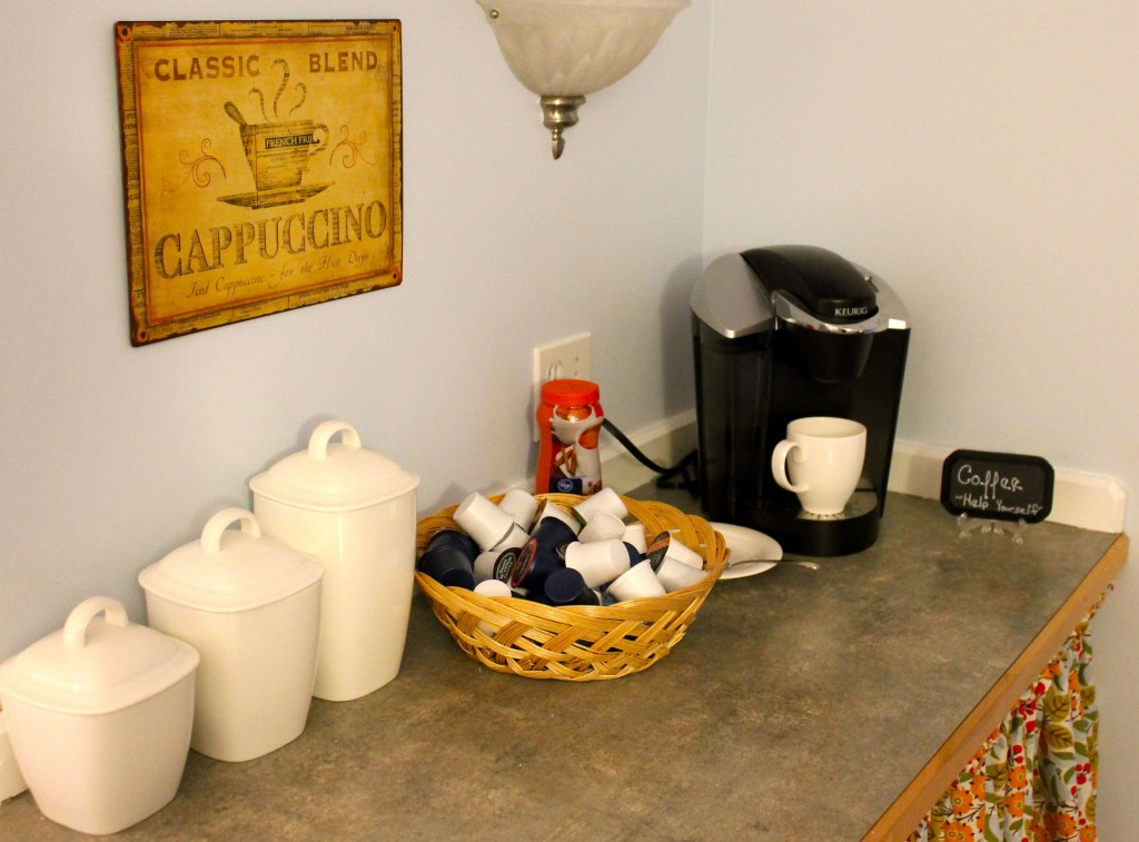 Coffee Bar - Hook and Nook Plus a Giveaway