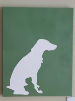 Dog after 239x323 - Dog Art