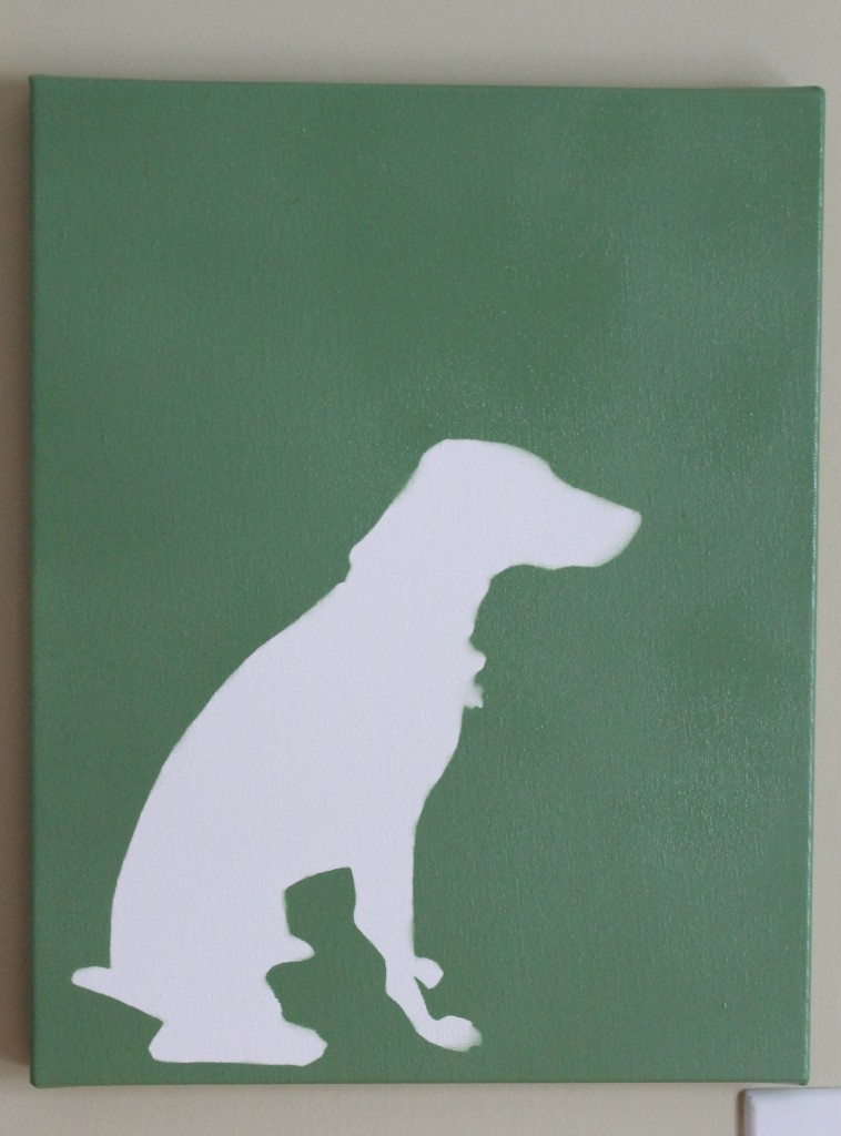Dog after 758x1024 - Finally - A Gallery Wall