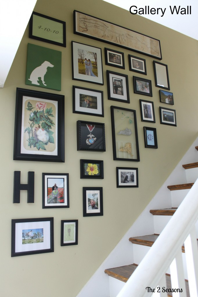 Gallery Wall After 682x1024 - Make Your Home Magazine Worthy - Revisited