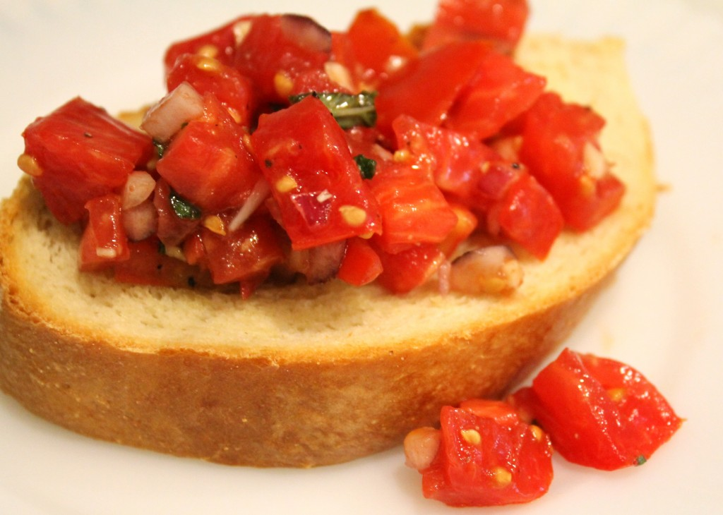 IMG 2916 1024x730 - Bruschetta Recipe