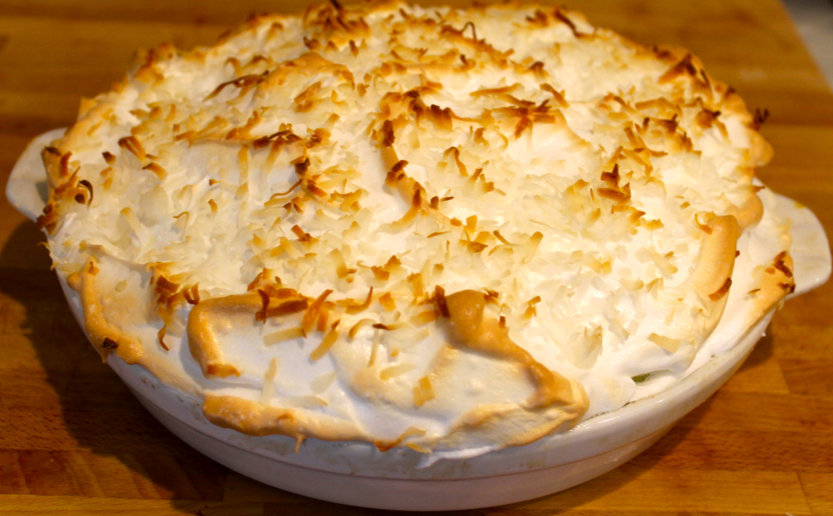 IMG 2994 - Old-Fashioned Coconut Cream Pie