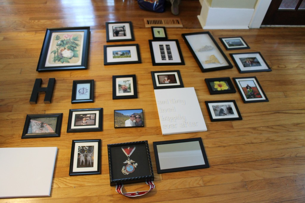 Set up 1024x682 - Finally - A Gallery Wall