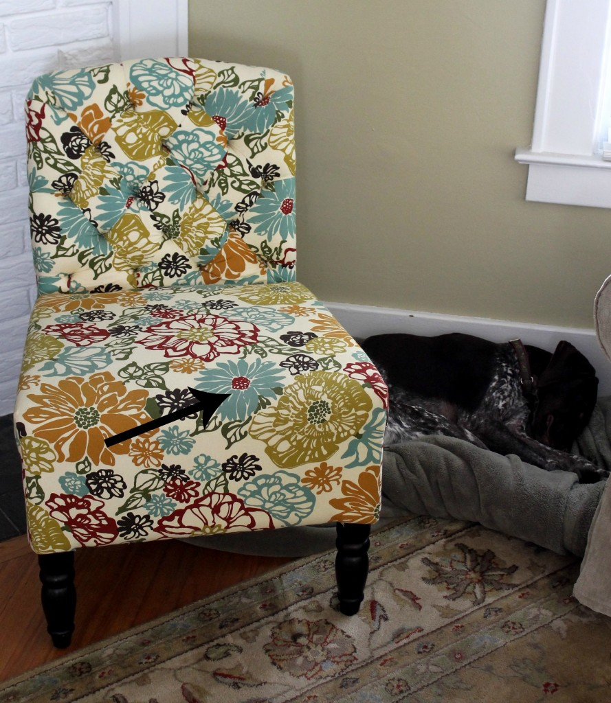 Chair from Pier one
