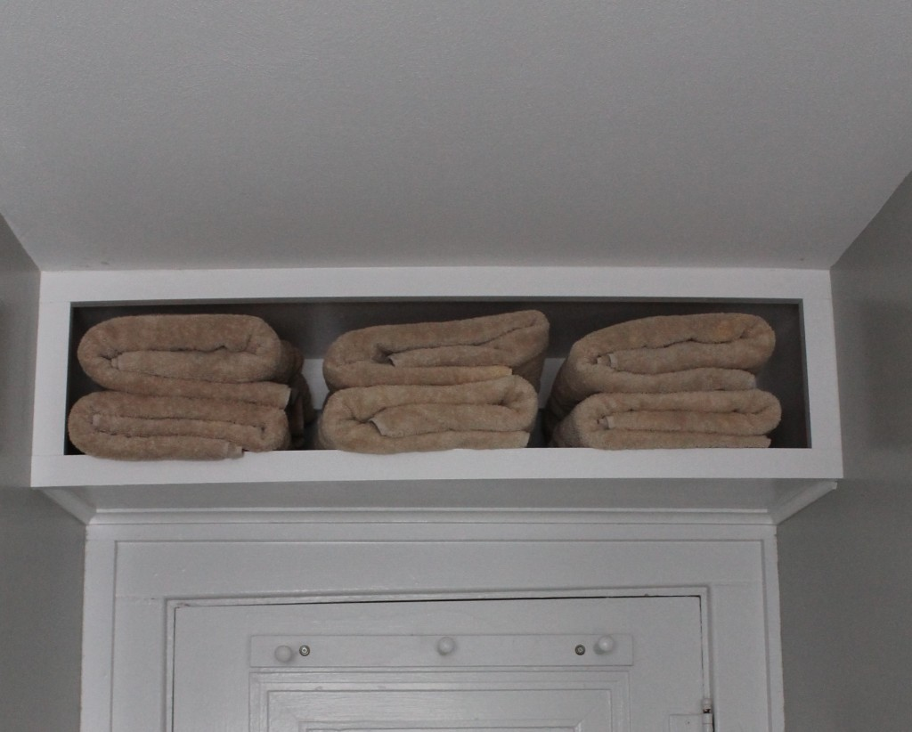 Towel Storage Ideas Small Bathroom Part - 48: So If You Have A Small Bathroom ...