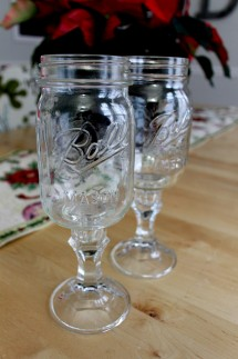 Mason 2 215x323 - Red Neck Wine Glasses
