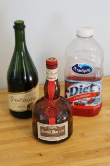 Poinsetta ingredients 215x323 - Poinsettia Cocktail