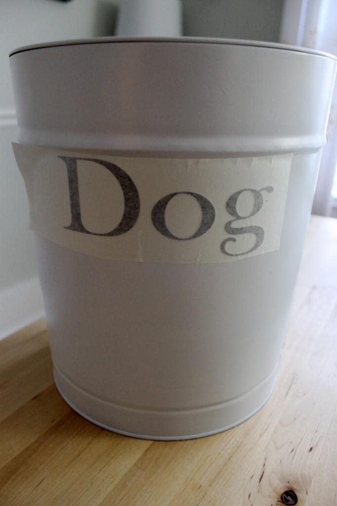 Tin Dog sil. 682x1024 - DIY Dog Food Container