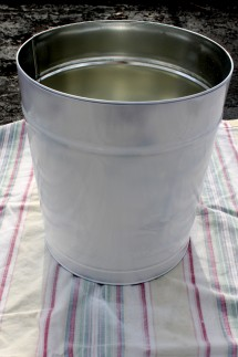 Tin Primed 215x323 - Dog food container primed