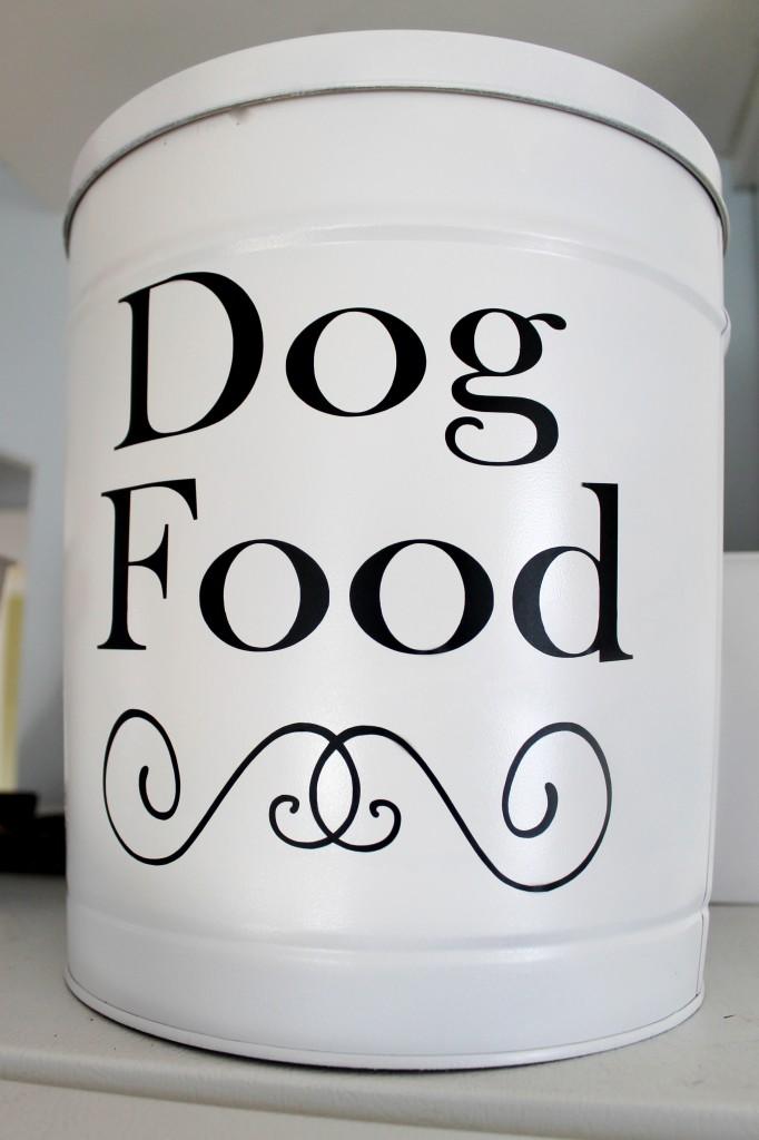 Tin after 682x1024 - DIY Dog Food Container