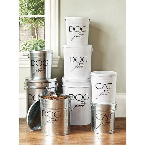 Tin ballards - DIY Dog Food Container