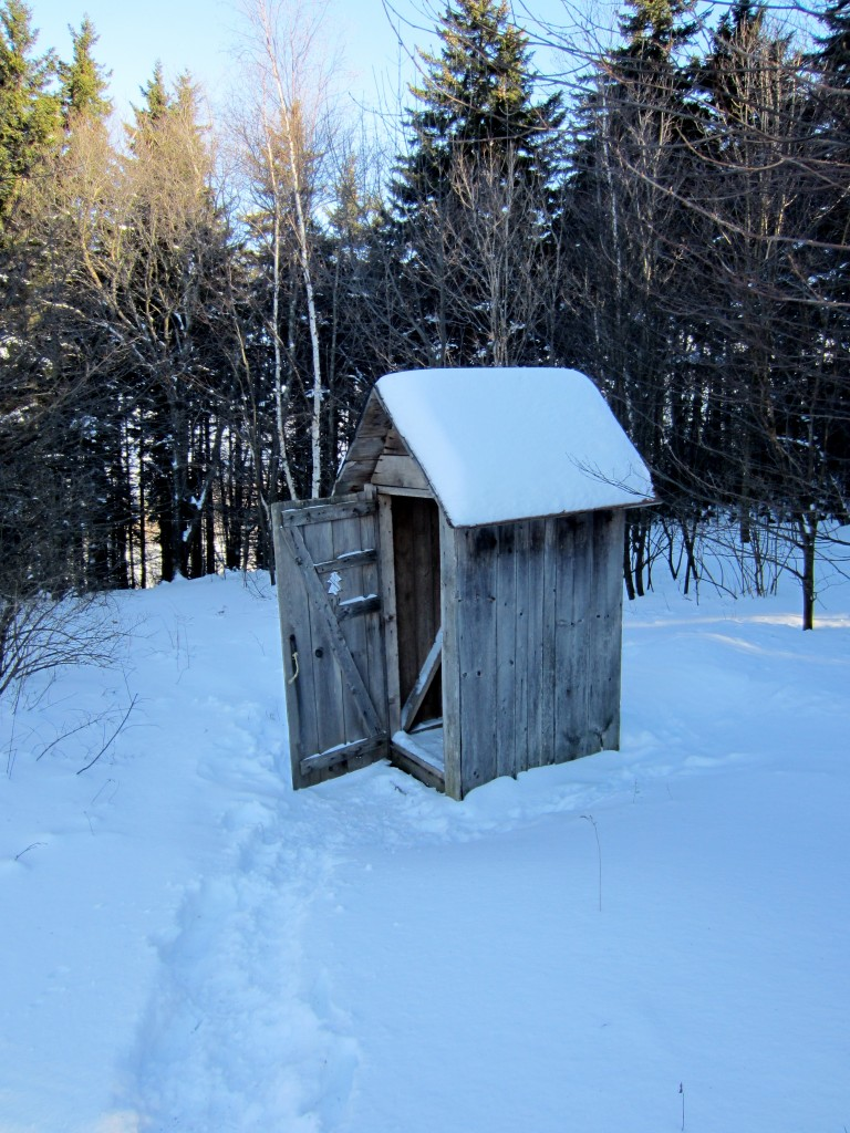 Vermont outhouse 768x1024 - Our Cabin in the Woods Plus a  Give-Away