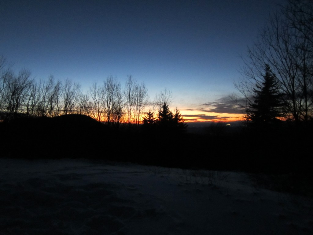 Vermont sunset 1024x768 - Our Cabin in the Woods Plus a  Give-Away