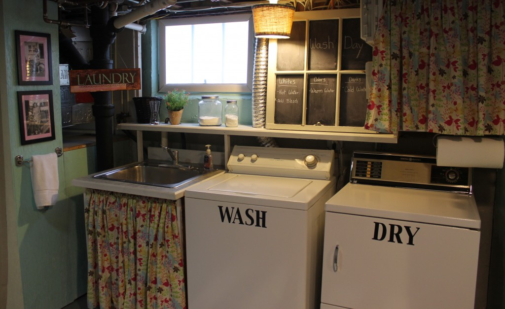 misc laundry 1024x627 - The Basement Transformation, Revisited