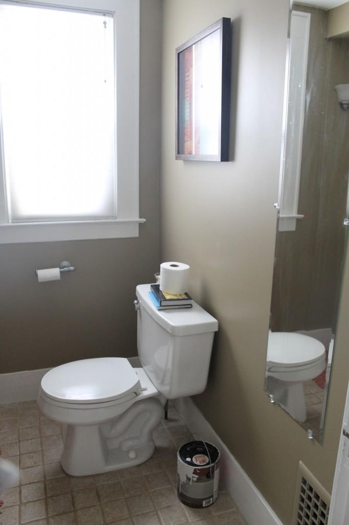 Bath before full 682x1024 - We Updated the Powder Room