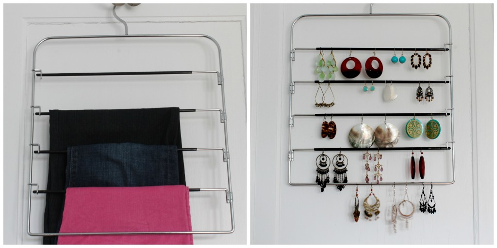HangerPicMonkey Collage 1024x512 - An Easy Way to Store Your Earrings