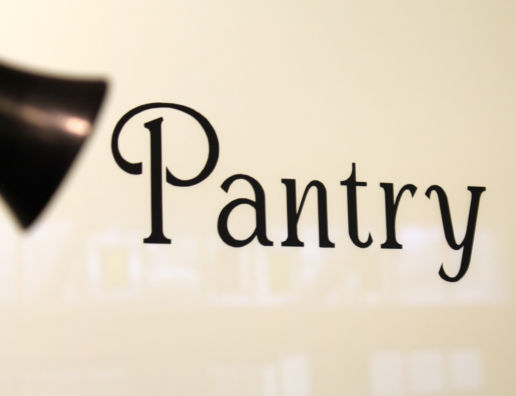 IMG 4342 1024x785 - New Pantry Sign