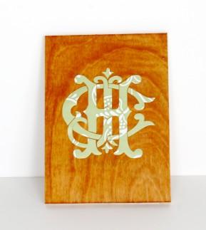 Wood sticker on 289x323 - Wood art