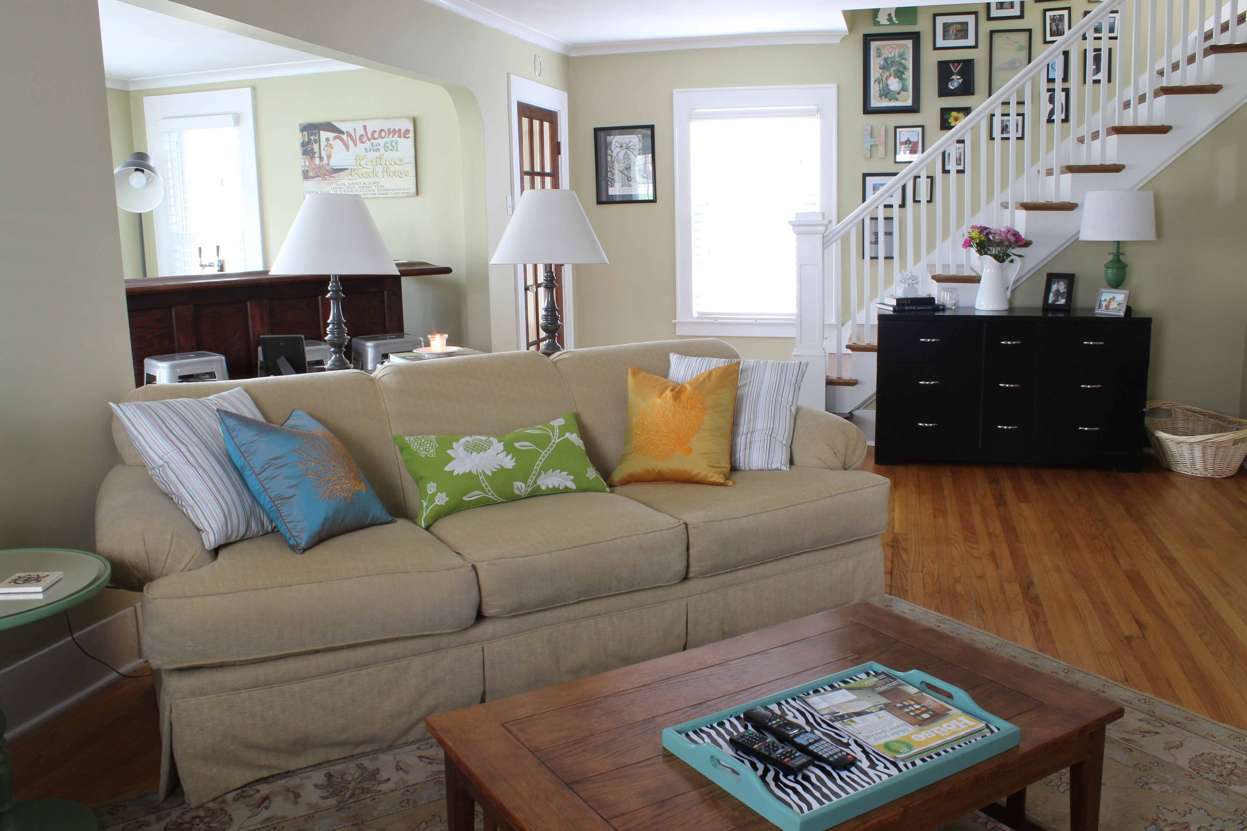 Blog all living room - Visual Tricks to Enlarge a Small Space