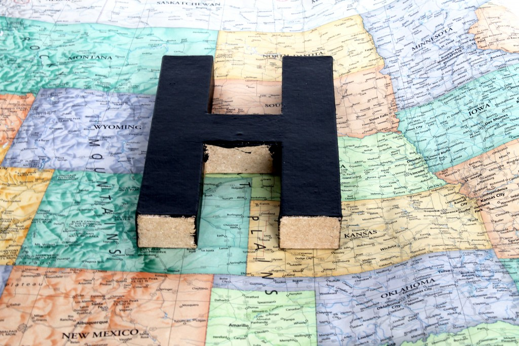 H during 1024x682 - Map a Letter