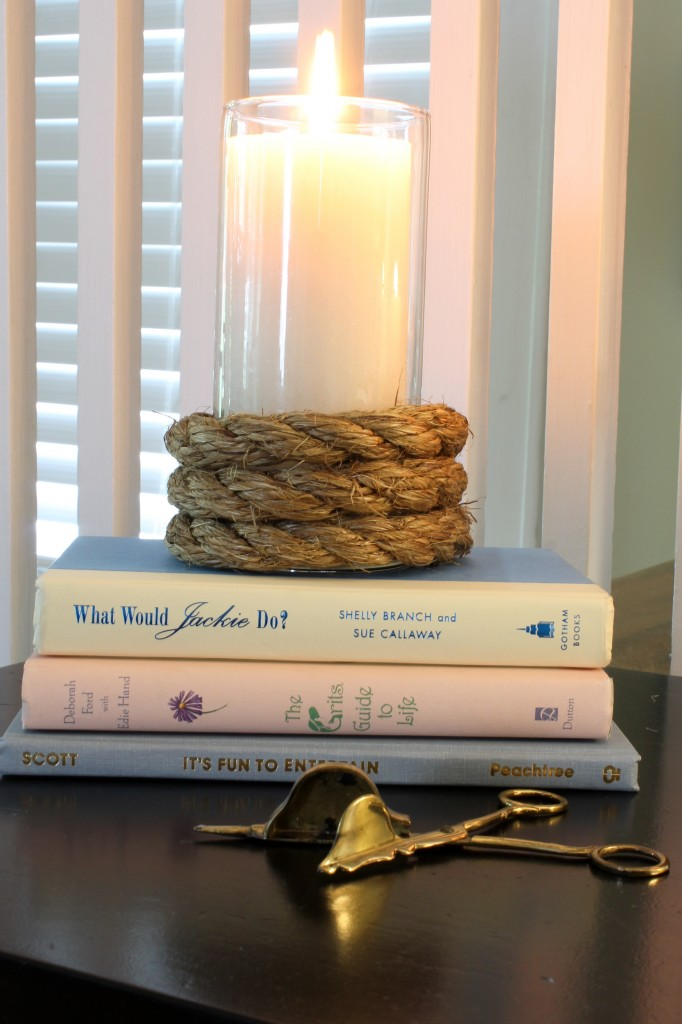 DIY Rope Candle Holders