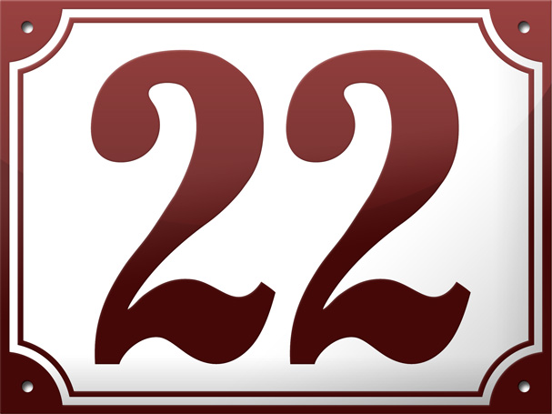 """3 - """"We Love Those European House Numbers"""" Give-Away"""