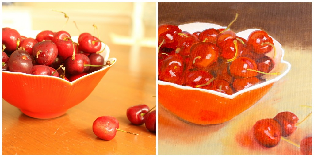 Cherry Painting 1024x512 - My Latest Painting