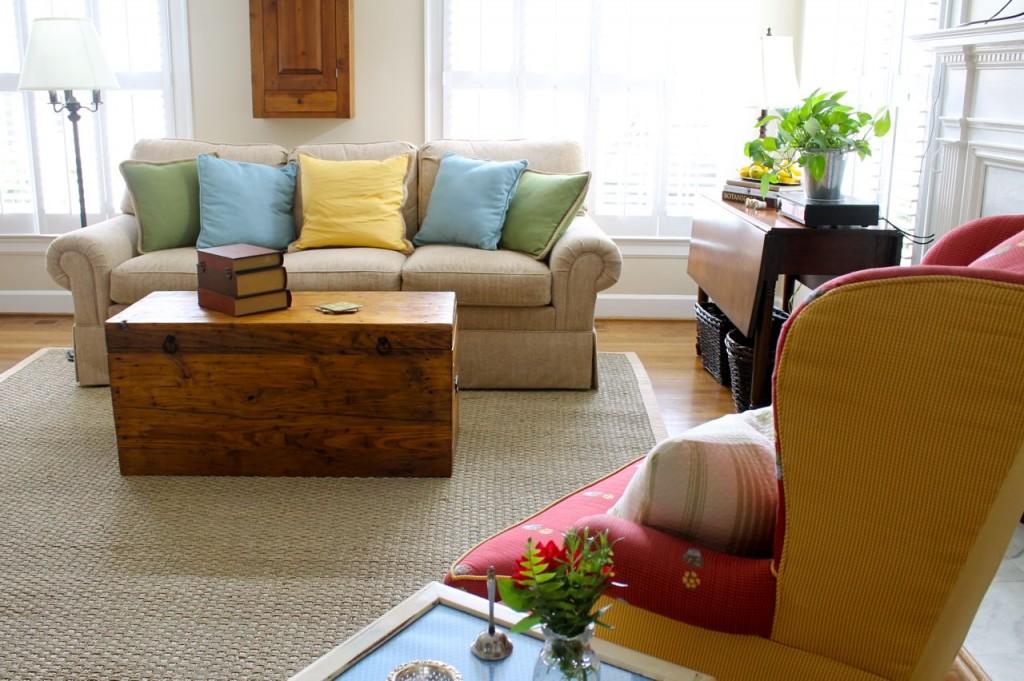 New rug - sofa