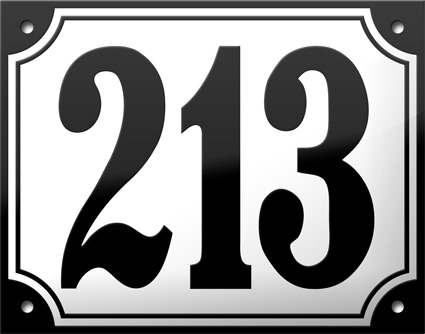 """number - """"We Love Those European House Numbers"""" Give-Away"""