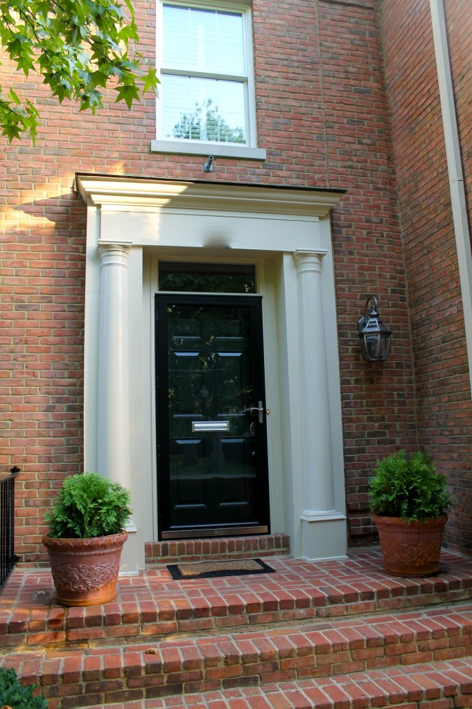 Townhouse front door