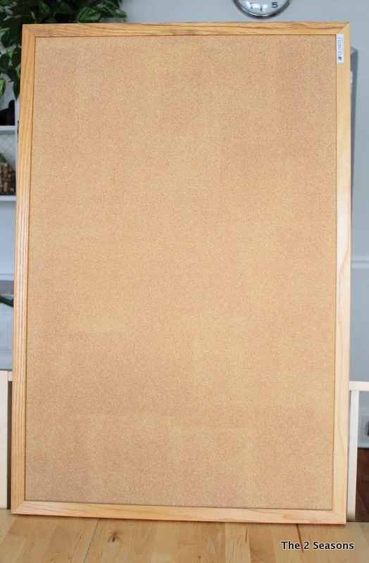 Plain bulletin board
