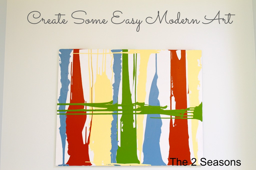 Art1 1024x681 - How To Create Some Easy Modern Art