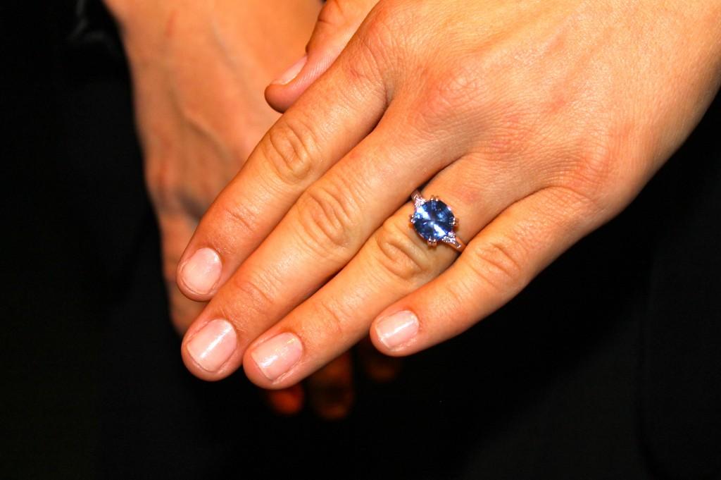 Josie's engagement ring