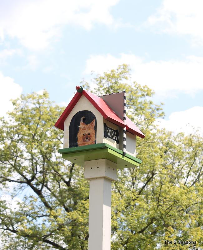 Dog House Birdhouse