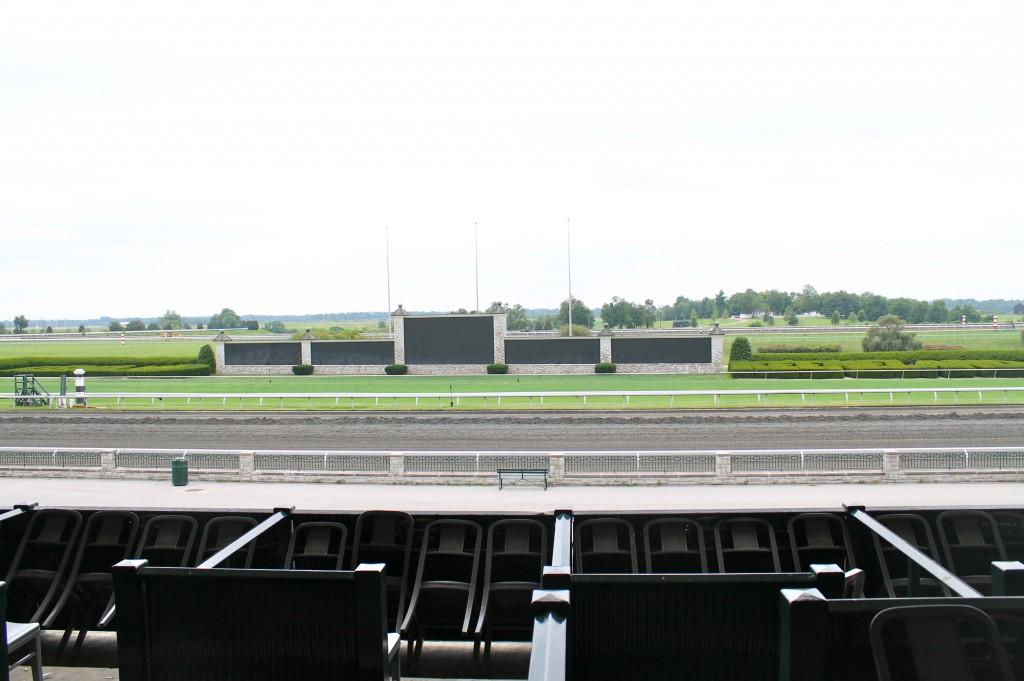 Keeneland track