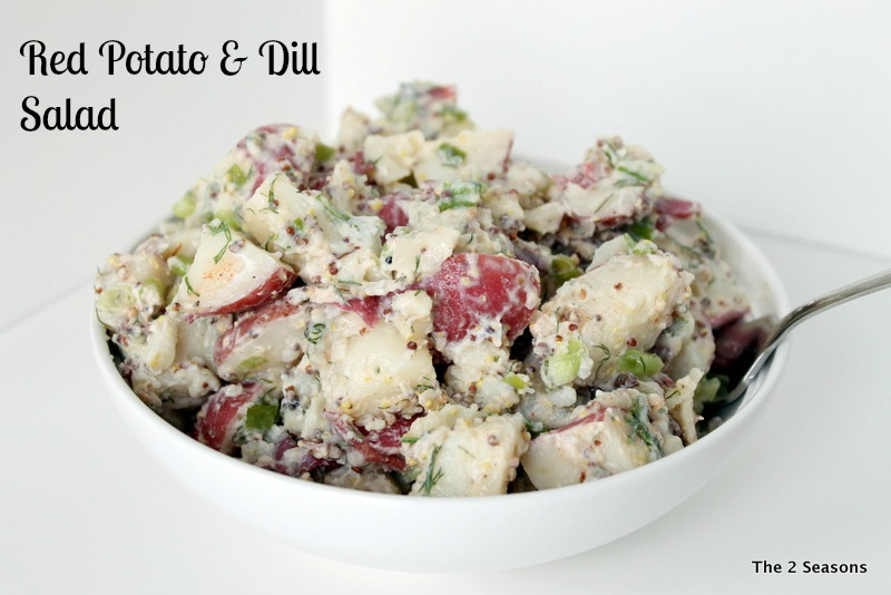 Salad with mark - Red Potato & Dill Salad