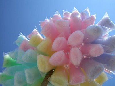 cotton candy - Grapes