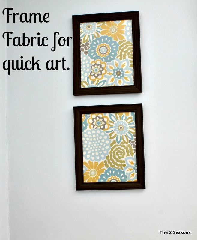 Frame Fabric for art