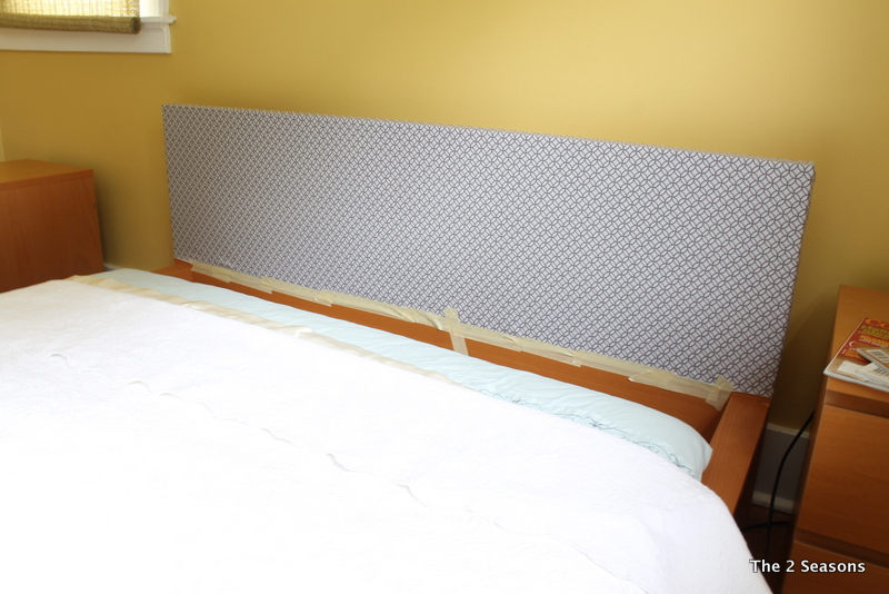 Covering an Ikea Headboard