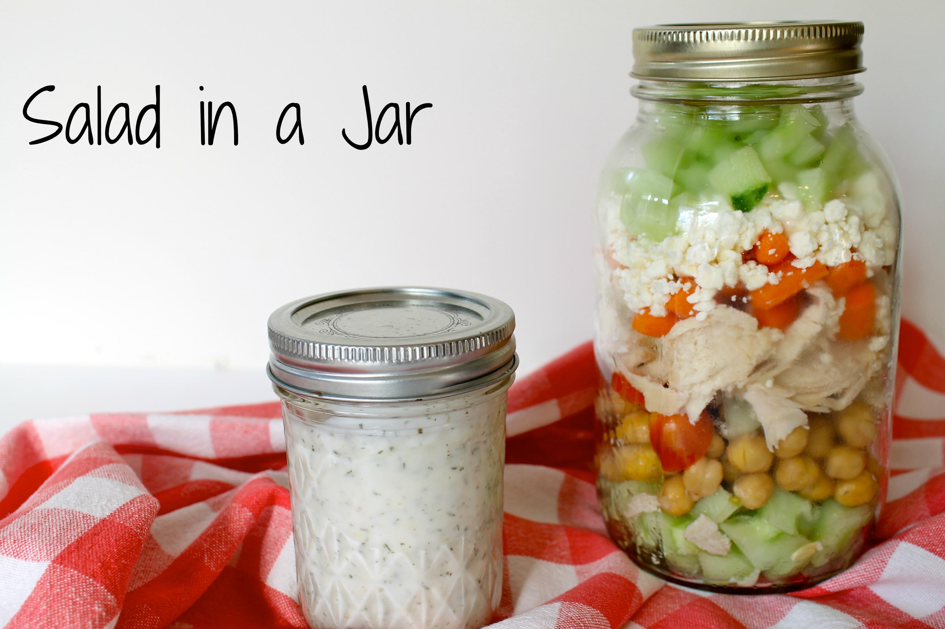 Salad in a Jar - Salad in a Jar