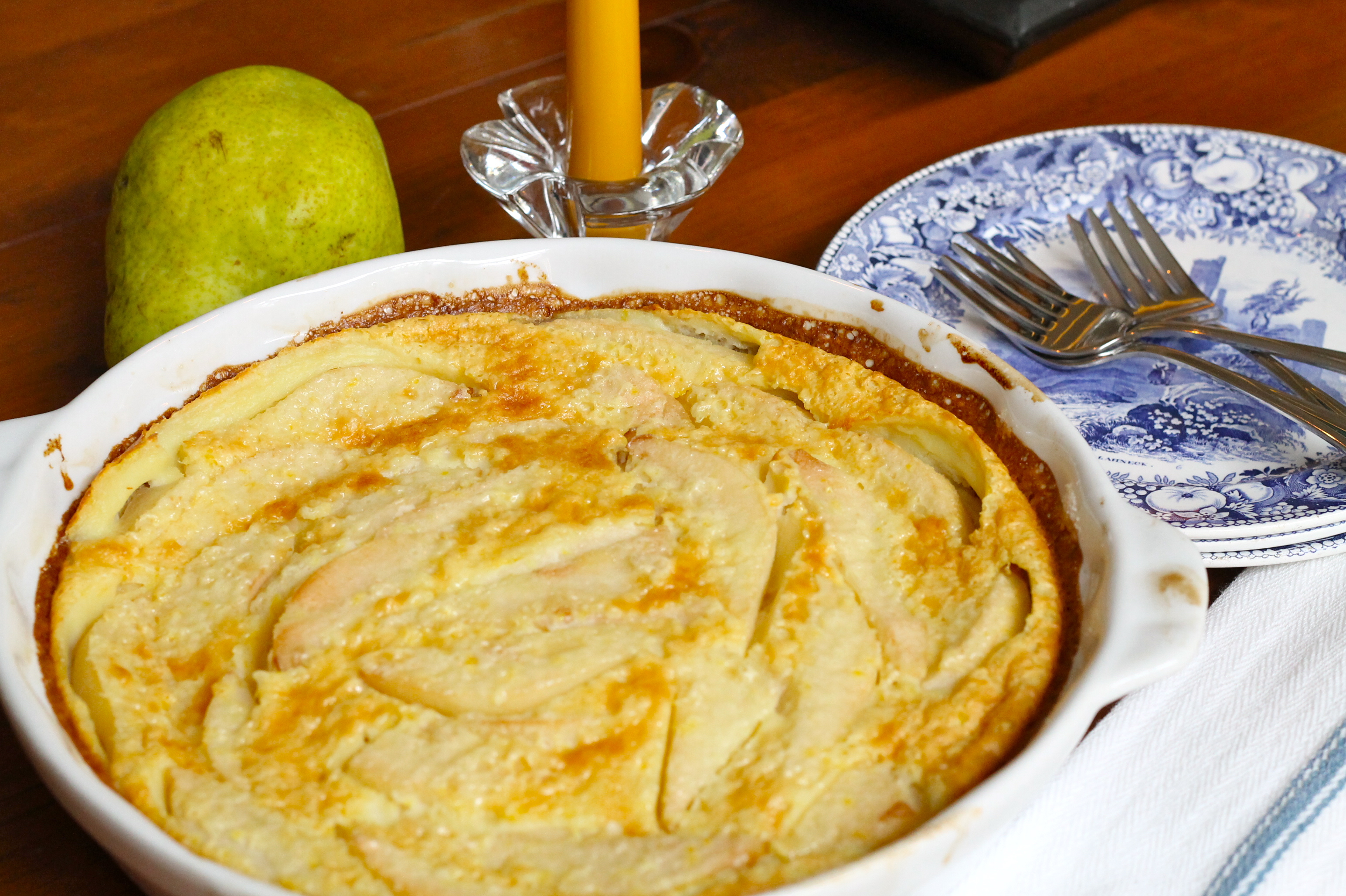 IMG 1961 - Pear Clafouti Recipe