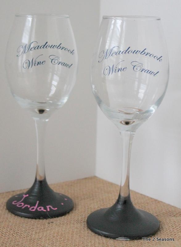 Wine Crawl Glass