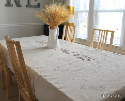 Thankful Table Cloth