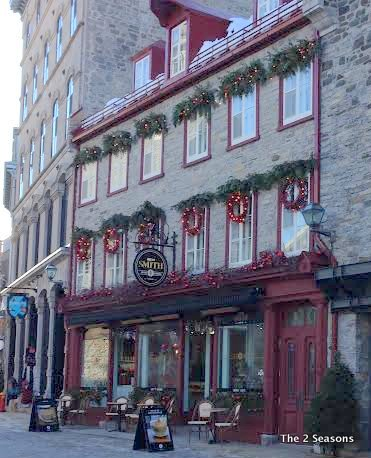 Canada decorations - Our Romantic Get-away to Quebec City