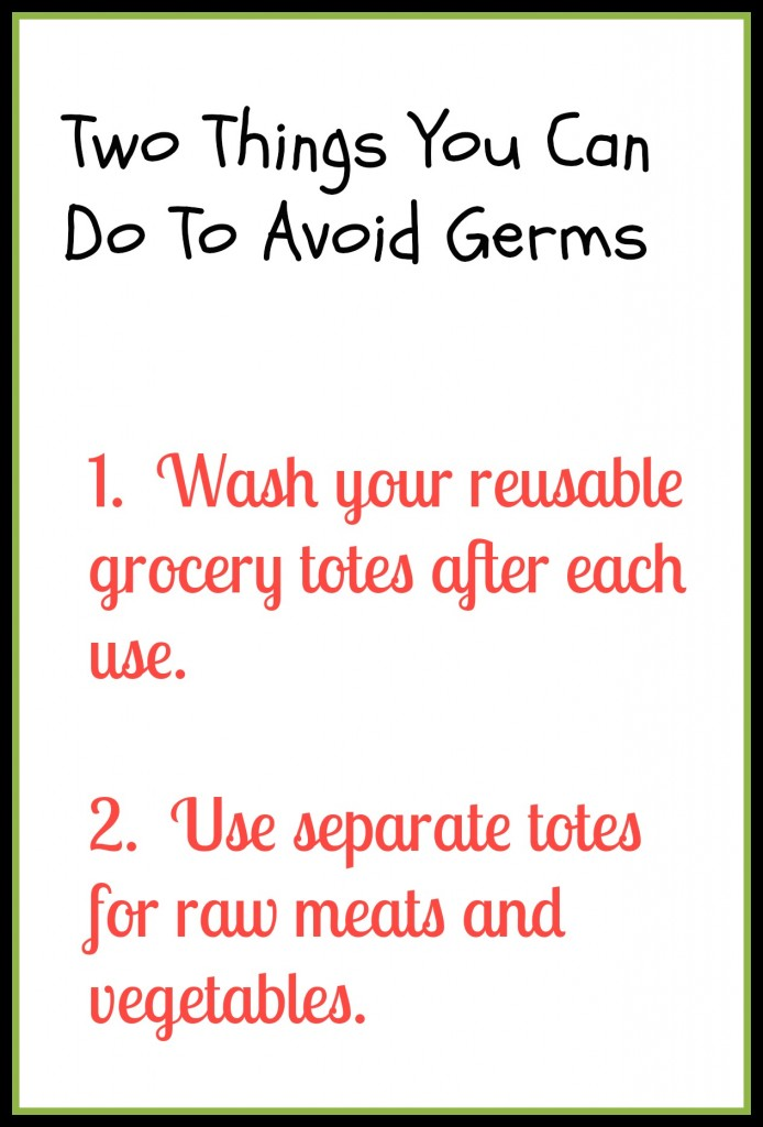 Avoiding Germs 694x1024 - Are Your Shopping Bags Clean?