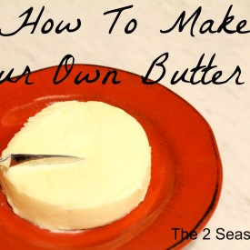 Butter 275x275 - How To Make Butter