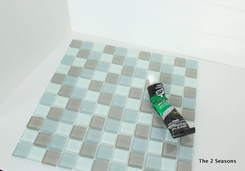 Products to tile a mirror