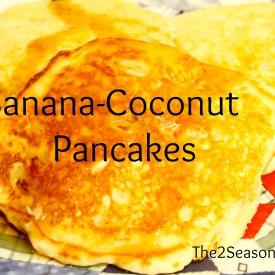 Banana Coconut Pancakes 275x275 - Banana/Coconut Pancakes
