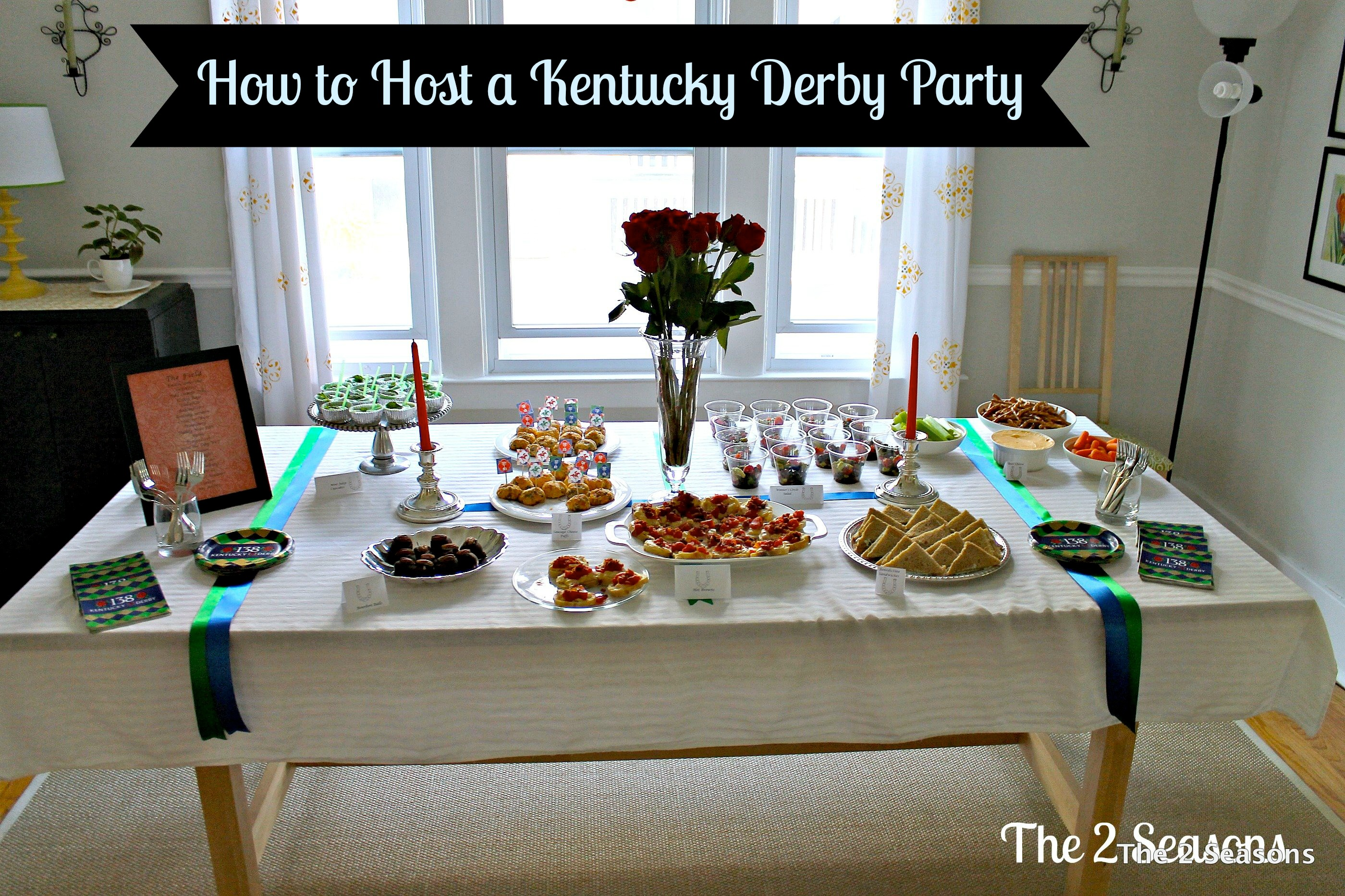 How to host a KY derby Party